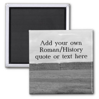 Create your own custom Roman/Historical quote Magnet