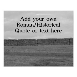 Create your own custom Roman/Historical quote Poster