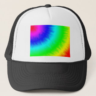 create your own custom tie dye template trucker hat