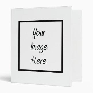Create Your Own - Customize Blank Vinyl Binders