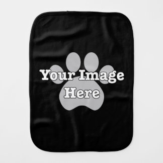 CREATE YOUR OWN Dark Baby Burp Cloth