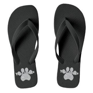 Create Your Own Dark Flip Flops