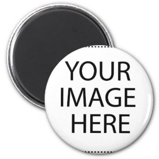Create your own design & text 2 inch round magnet