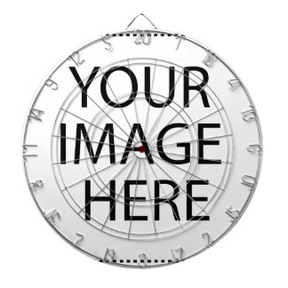 Create your own design & text dartboard