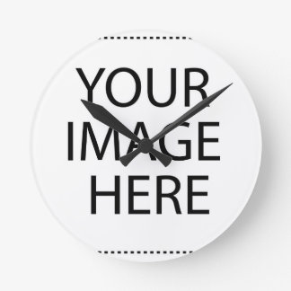 Create your own design & text :-) wall clocks
