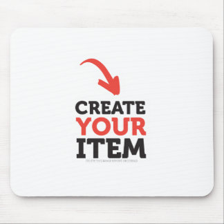 CREATE-YOUR-OWN DIY Custom Print (Color Options) Mouse Pad