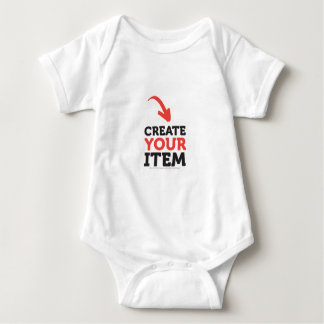 CREATE-YOUR-OWN DIY Custom upload your design Baby Bodysuit