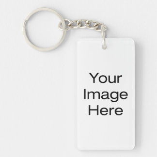 Create Your Own Double-Sided Rectangular Acrylic Keychain