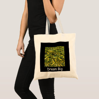 Create your own Dream Big tote bag