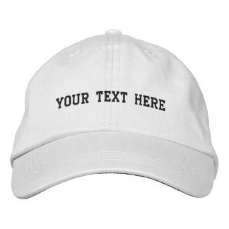 Create Your Own Embroidered Hats