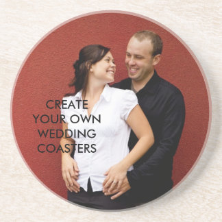 Create Your Own Engagement Photo Coasters