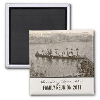 Create Your Own Family Reunion Keepsake Magnet