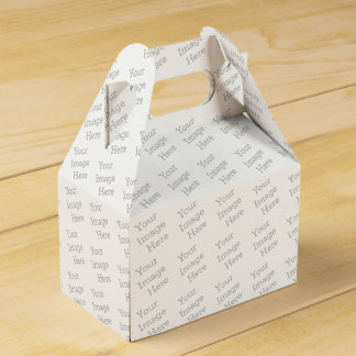 Create Your Own Favor Boxes