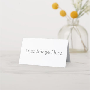 Name plate place card place card baptism communion