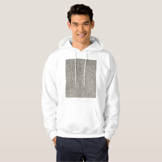 Create your own | Furry grey fabric Hoodie