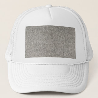 Create your own | Furry grey fabric Trucker Hat