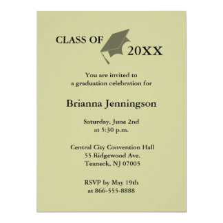 Create Your Own Graduation Invitation 4
