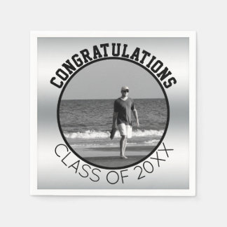 Create Your Own Graduation | Personalized Photo Paper Napkin