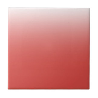 Create your own | grenadine to white tile