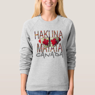 Create your own hakuna matata Canada Butterfly Sweatshirt