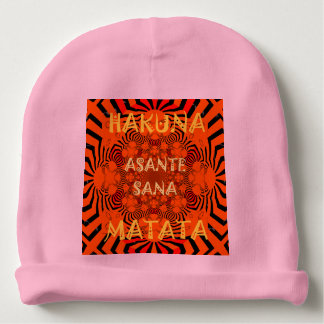 Create Your Own Hakuna Matata cute Girly pretty Baby Beanie
