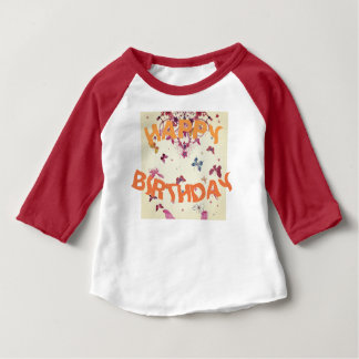 Create Your Own Happy Birthday Baby T-Shirt