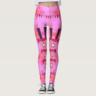 Create your own Happy Birthday Occasion Clothing Leggings