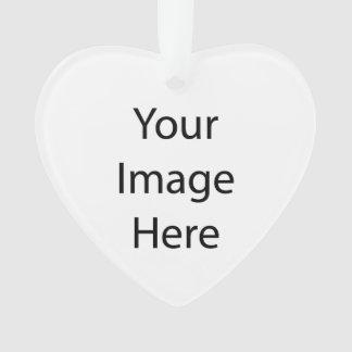 Create Your Own Heart Acrylic Ornament