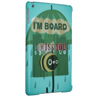 Create Your Own Honey I Miss You So Much iPad Air Cases
