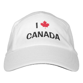 Create Your Own I Love Canada Maple Leaf Hat