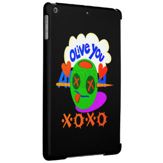 Create Your Own I Love XOXO Africa iPad Air Cases