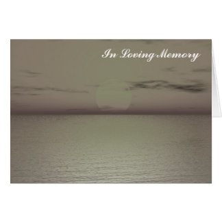 """Create your Own """"In loving Memory"""" Card"""