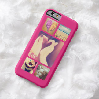Create Your Own Instagram 5 Photo Barely There iPhone 6 Case