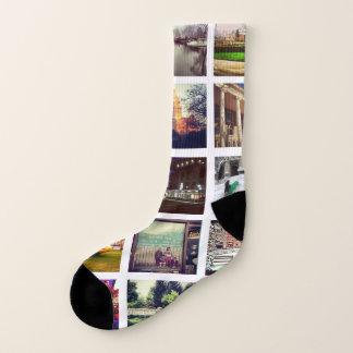Create Your Own Instagram All-Over-Print Socks