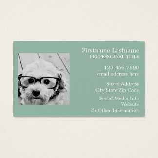 Create Your Own Instagram Art Business Card
