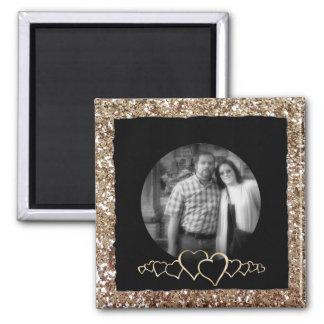 Create Your Own Instagram | DIY Photo Glitter Square Magnet
