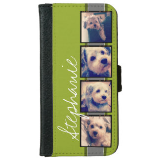 Create Your Own Instagram Photo Collage iPhone 6 Wallet Case
