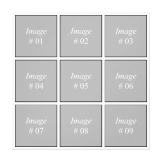 Create your own Instagram photo collection Canvas Print
