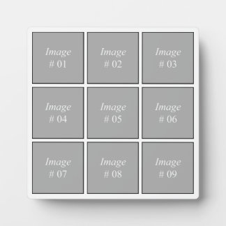 Create your own Instagram photo collection Plaque