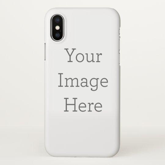 competitive price c2a87 93a3e Custom iPhone X Glossy Case