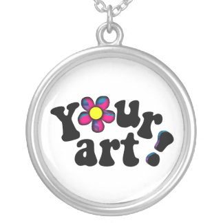 Create  Your Own Keepsake or Memento Silver Plated Necklace