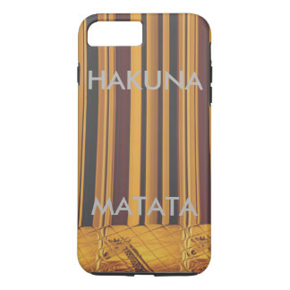 Create your own Kenya Giraffe Hakuna Matata iPhone 8 Plus/7 Plus Case