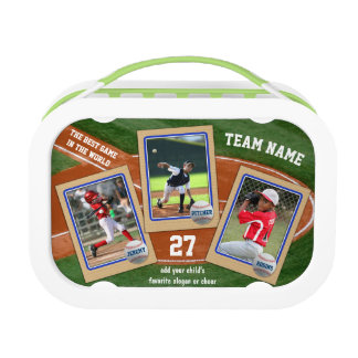 Create Your Own Kids Baseball Cards Sports Collage Lunchboxes
