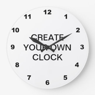 Create Your Own Large Clock