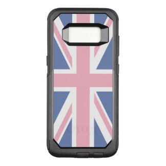 Create Your Own Light Pink Union Jack OtterBox Commuter Samsung Galaxy S8 Case