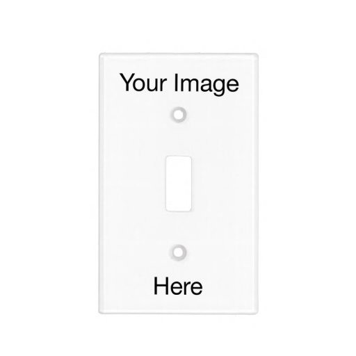 Create Your Own Light Switch Cover