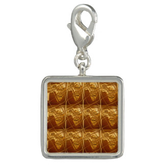 Create Your Own Lovely Africa Golden Brown Art Charms