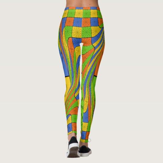 Create your own lovely Egyptian multi colour Leggings