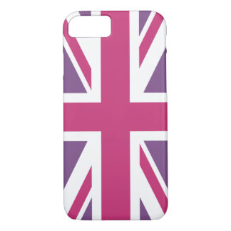 Create Your Own Magenta Union Jack Case-Mate iPhone Case