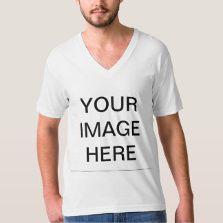 Create Your Own Men's American Apparel V-neck T-Shirt